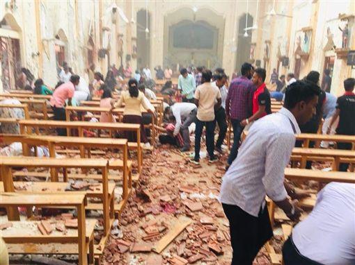 斯里蘭卡,首都,可倫坡,爆炸,教堂,信徒推特