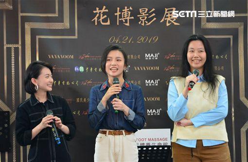 導演烏奴奴和新生代演員詹宛儒、白欣平、宋少卿《我的阿北同學》 圖/華視提供