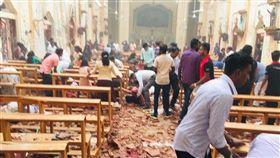 斯里蘭卡,首都,可倫坡,爆炸,教堂,信徒 推特