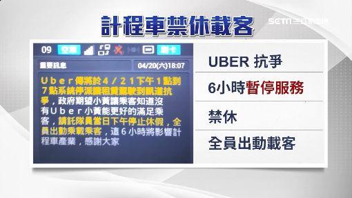逾6千Uber駕駛抗議!「起租1小時」怎載客