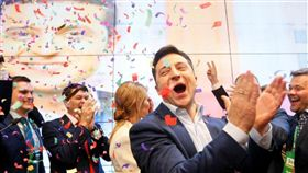 假戲真做!烏克蘭諧星成功當選 劇裡劇外都是素人總統(圖/翻攝自推特)
