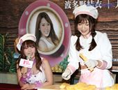 波多野結衣與大槻響來台舉辦出道10周年粉絲見面會。(記者林士傑/攝影)