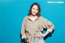 Luji黃莉接受三立新聞網專訪。(記者林士傑/攝影)