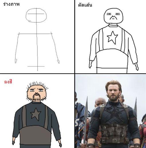 復仇者聯盟4,小畫家 臉書