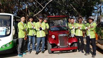 花博最美風景 營管人員護遊客安全