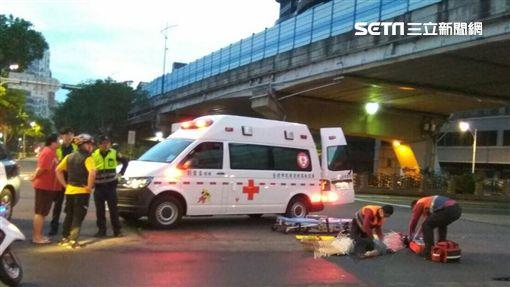 台北市郜姓男子撞死單車騎士,不但加速逃離現場,還找江姓小弟前來頂罪(翻攝畫面)