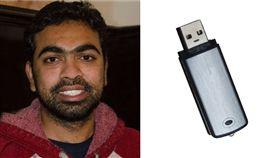 USB,電腦,畢業,破壞,大學,美國,印度,待補 圖/翻攝自推特、Pixabay