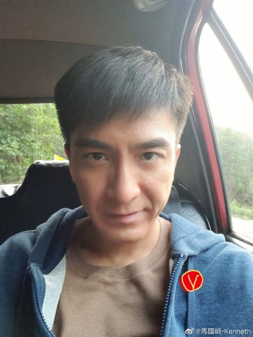 馬國明,黃心穎/翻攝自微博