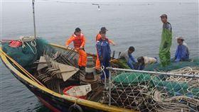 馬祖,陸漁船,越界,海巡(圖/翻攝畫面)