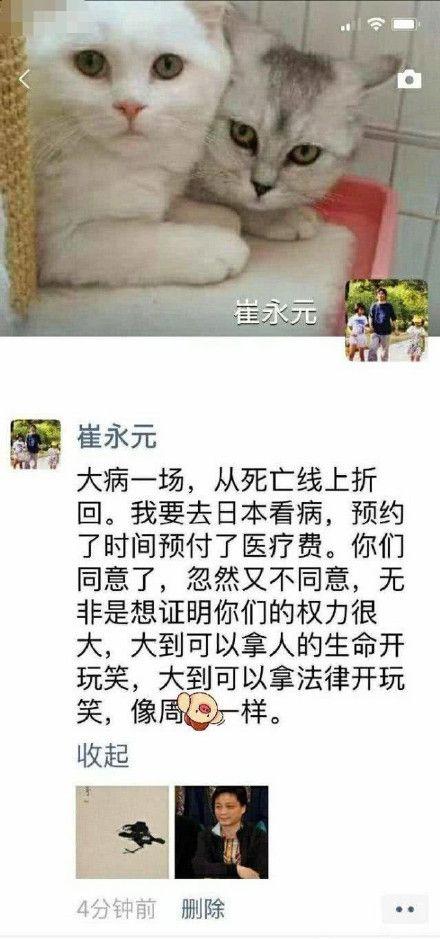 崔永元。(圖/微博)