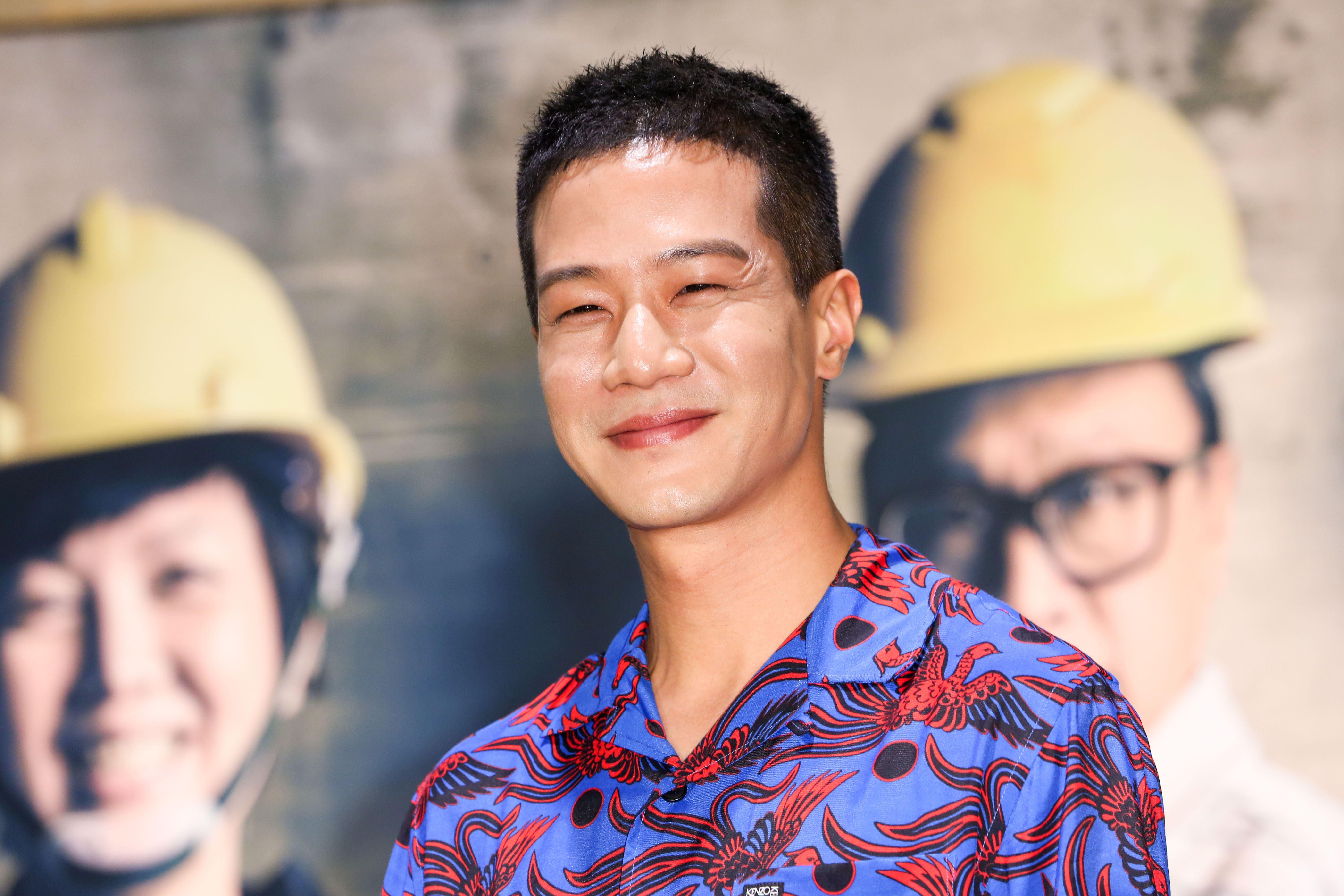新戲《做工的人》殺青暨卡司發布會,演員薛仕凌。(記者林士傑/攝影)