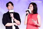 平行時空劇《如果愛,重來》首映會,演員陳乃榮、鄧九雲。(記者林士傑/攝影)