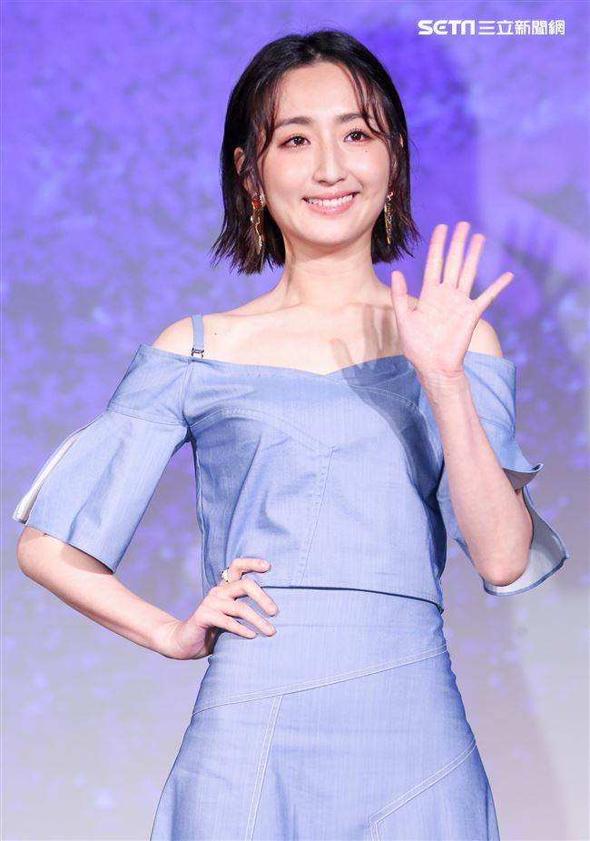 平行時空劇《如果愛,重來》首映會,演員柯佳嬿。(記者林士傑/攝影)