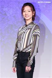 平行時空劇《如果愛,重來》首映會,演員陳妤。(記者林士傑/攝影)