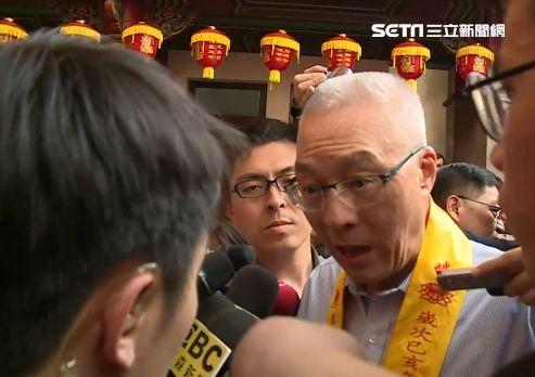吳敦義受訪回應韓五點