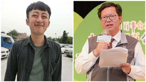 泛舟哥張吉吟、鄭文燦,合成圖/翻攝自臉書