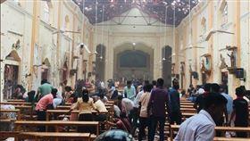 伊斯蘭國在復活節發動的炸彈攻擊造成逾320人喪生。(圖/翻攝自推特)