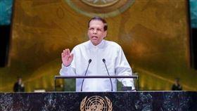 斯里蘭卡總統席瑞塞納(Maithripala Sirisena)。(圖/翻攝自推特)
