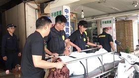 台北市黃姓男子被債主活活打死現場(翻攝畫面)