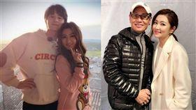 Selina,任家萱,張軒睿,任爸/翻攝自Selina微博、臉書