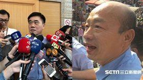 郝龍斌,韓國瑜 圖/記者黃宣尹攝影,記者林昱孜攝影