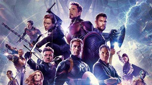 《復仇者聯盟4:終局之戰》海報。(圖/翻攝自Marvel官方臉書)
