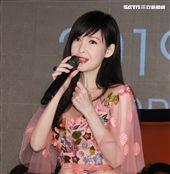 周慧敏出席30周年巡演台北站記者會。(記者邱榮吉/攝影)