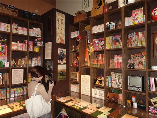 「鈴木敏夫與吉卜力展」是吉卜力暌違3年在東京辦大展,展示鈴木揮毫文字與語錄、影像設計圖等在內逾500件作品。中央社記者楊明珠東京攝 108年4月19日
