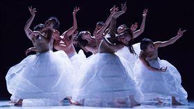 台灣丞舞俄羅斯演出 舞作浮花意象吸引目光台灣丞舞團隊在俄羅斯烏里揚諾夫斯克演出舞作「浮花」,舞者與舞台呈現令觀眾耳目一新。(駐俄代表處提供)中央社傳真 108年4月20日