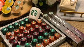 星巴克X雀巢膠囊咖啡。(圖/記者馮珮汶攝)