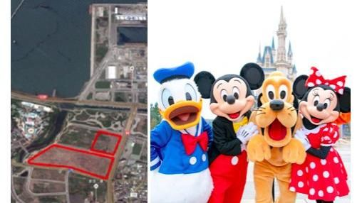 台版迪士尼。(圖/取自新北市府網站、東京迪士尼官網)