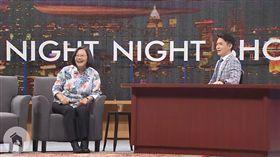 總統蔡英文日前上脫口秀《博恩夜夜秀》。(圖/翻攝蔡英文臉書)