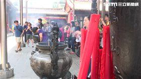 萬華龍山寺(新聞台畫面)