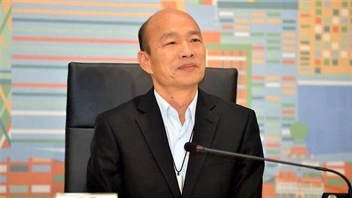 韓國瑜對於參選2020總統大選仍不願積極表態。(圖/翻攝自臉書)