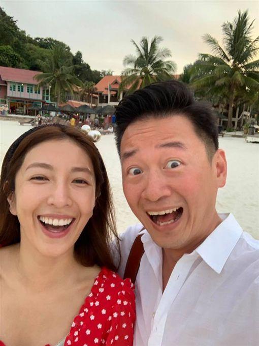 楊謹華,結婚,老公,Ben/翻攝自楊謹華臉書