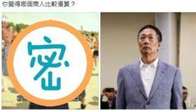 林義豐+密,郭台銘,臉書