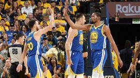 NBA/勇士輸!3星海灌91分無用 NBA,季後賽,金州勇士,洛杉磯快艇,Kevin Durant,Stephen Curry 翻攝自推特