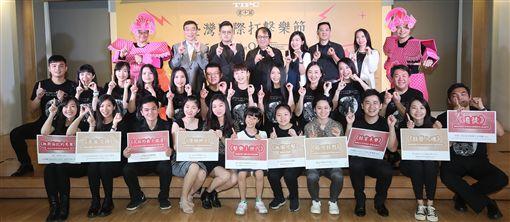 台灣國際打擊樂節(TIPC)邁入第10屆,今年以「追夢,不在遠方」為主題,邀請到荷、德、法、保加利亞、奧地利、美、南非、墨、馬來西亞、日、韓與台灣共12國、12個團隊、70名打擊樂家齊聚。中央社記者張新偉攝 108年4月24日