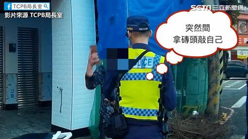 酒駕男襲警。