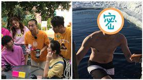 郭彥均上浩角翔起《綜藝新時代》、張勛傑  圖/民視提供、翻攝自臉書