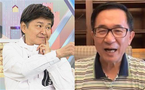 陳水扁、賀一航/翻攝自陳水扁臉書、中視提供