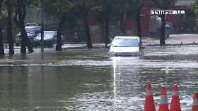 爆水管淹水1200