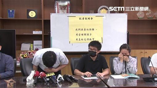 台中/國三生遭霸凌墜樓…校長4度鞠躬致歉