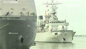 法軍艦穿越台海…中國氣炸了 法媒補刀批「侵害台灣民主」