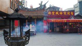 台北霞海城隍廟。(圖/取自交通部觀光局網站)