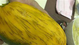 氧化,芒果,果肉,黑絲,腿毛(圖/翻攝自臉書今晚煮乜餸)