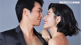 對於婚事邵翔表示不急,但小蠻卻在節目上公開希望「被求婚」。(圖/相親相愛工作室提供)