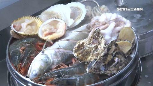 海鮮堆塔滴出精華 鹹酥雞成「落湯雞」鍋