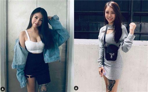 馬來西亞,正妹,蔡芷芊(圖/翻攝自tzeqiann_fans IG)