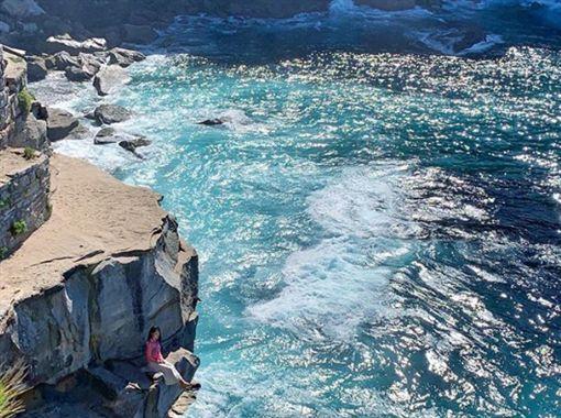 拍照,打卡,陸客,澳洲,雪梨,懸崖https://www.instagram.com/explore/locations/1025573515/diamond-bay/